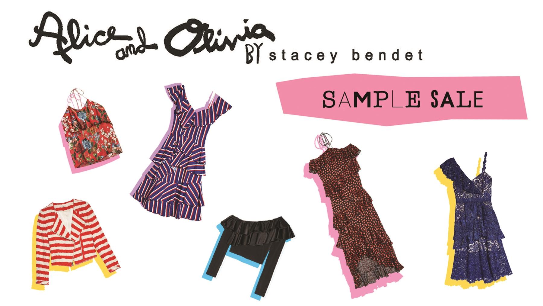 Women's Fashion: sample sale shopping