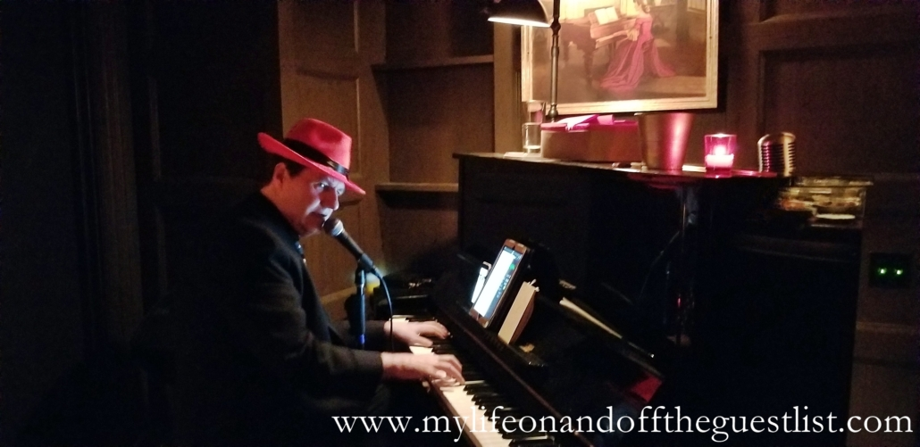 Pianist at the Sixth Annual Negroni Week