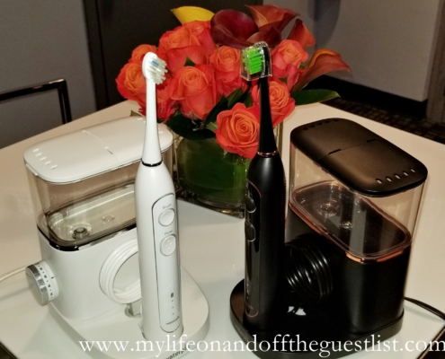 electric toothbrush and flosser