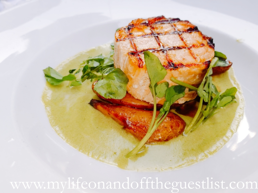 Food Photography: Cafe metro Monday Mariage Salmon Entree