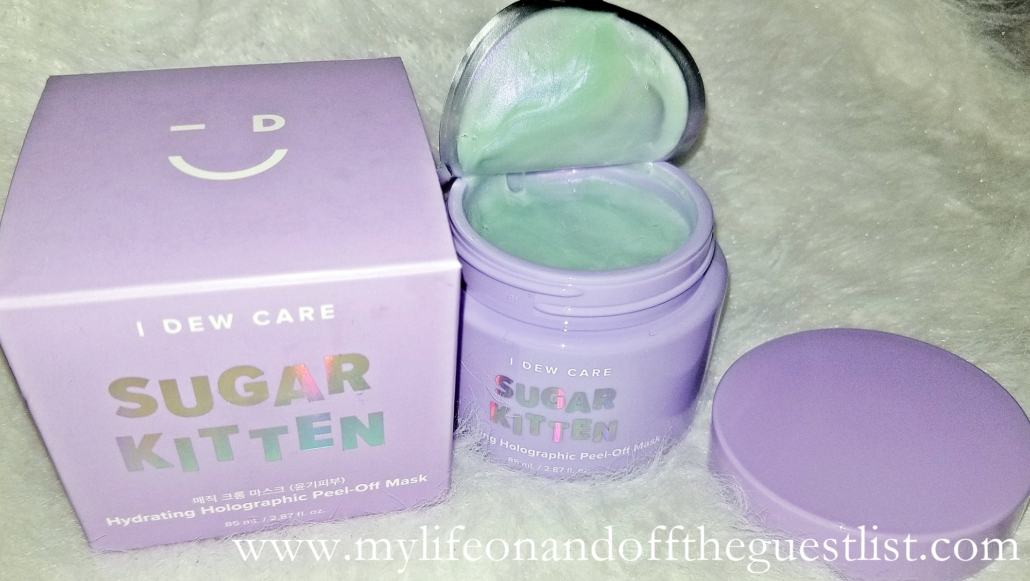 Beauty Photography: I Dew Care Holographic Hydrating Peel-Off Mask