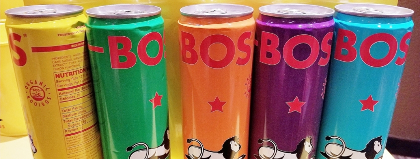 Beverage Photography: BOS Iced Teas