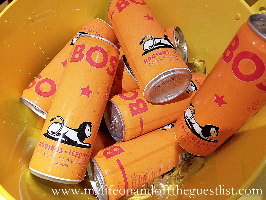 Beverage Photography: BOS Peach Iced Teas
