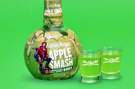 Captain Morgan Apple Smash Rum Shot