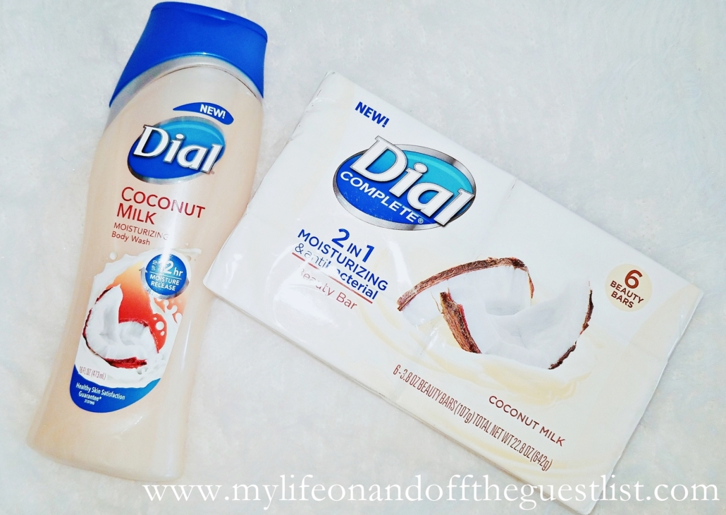 Dial Coconut Milk Bath Products