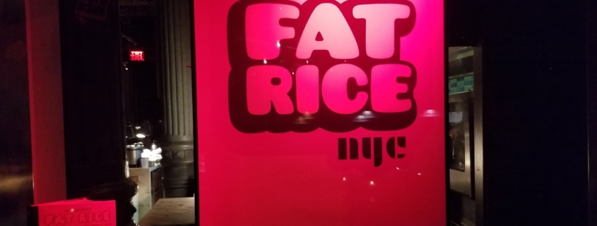 Restaurant Review: Fat Rice at Chefs Club New York