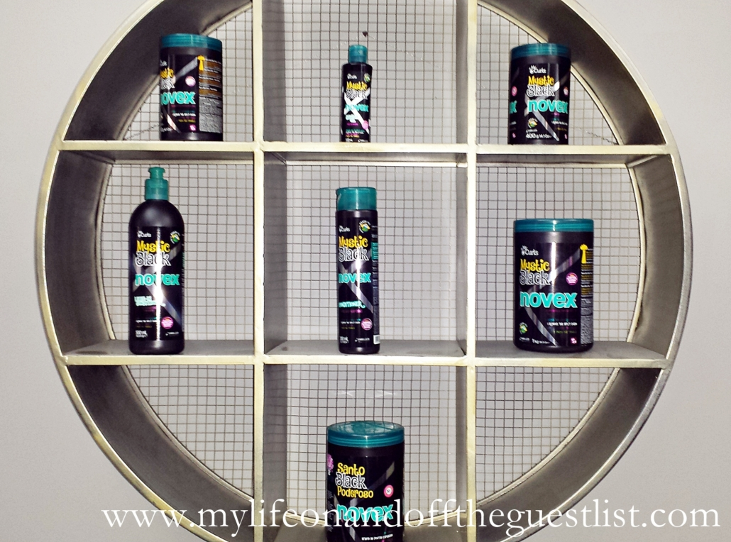 Novex Mystic Black Baobab Seed Oil Hair Care Products