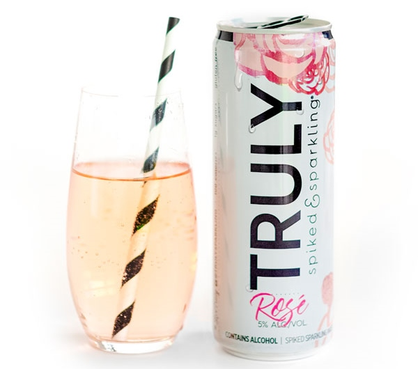Truly Spiked and Sparkling Rosé Water
