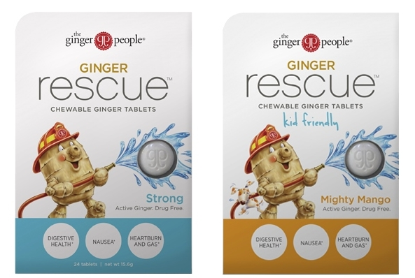 The Ginger People Ginger Rescue Chewable Tablets