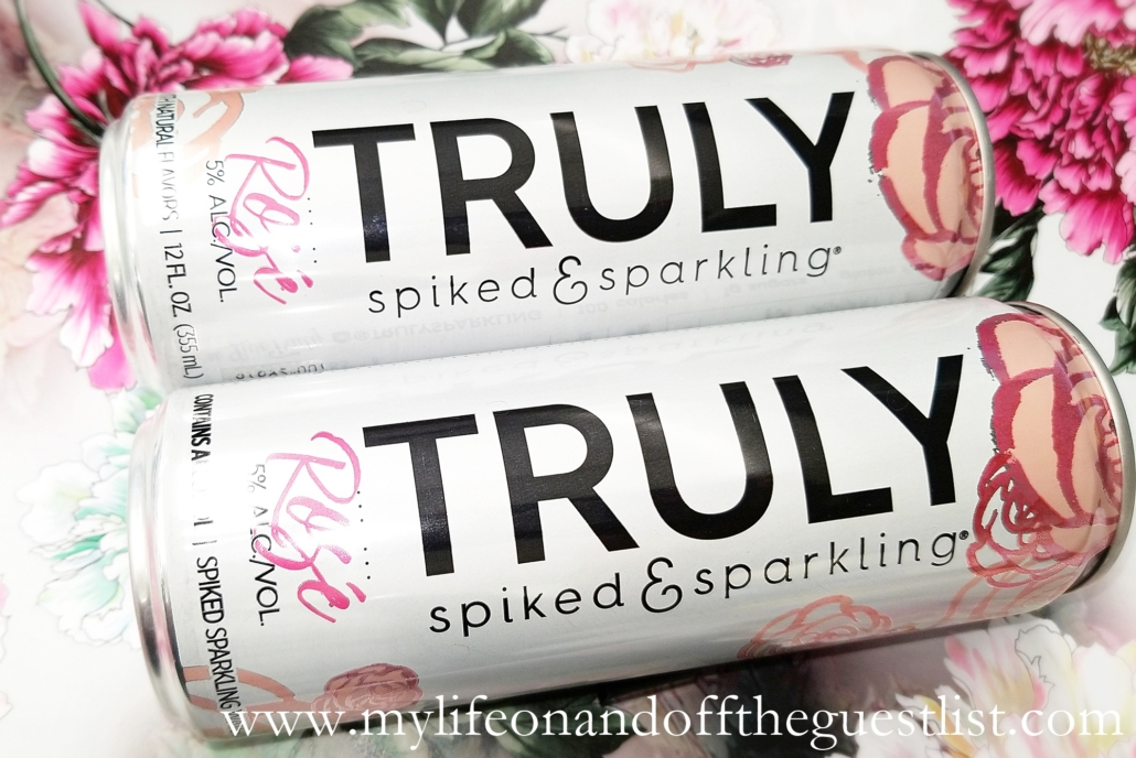 Truly Spiked and Sparkling Water Rose