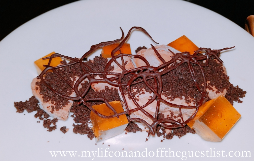 Food Photography: Chocolate Mousse Dessert: Fat Rice at Chefs Club New York