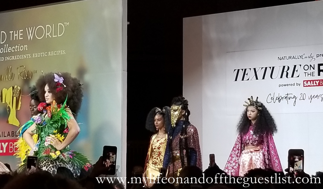 Camille Rose at Texture on the Runway 2018