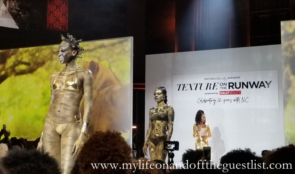 Mielle Organics at Texture on the Runway 2018