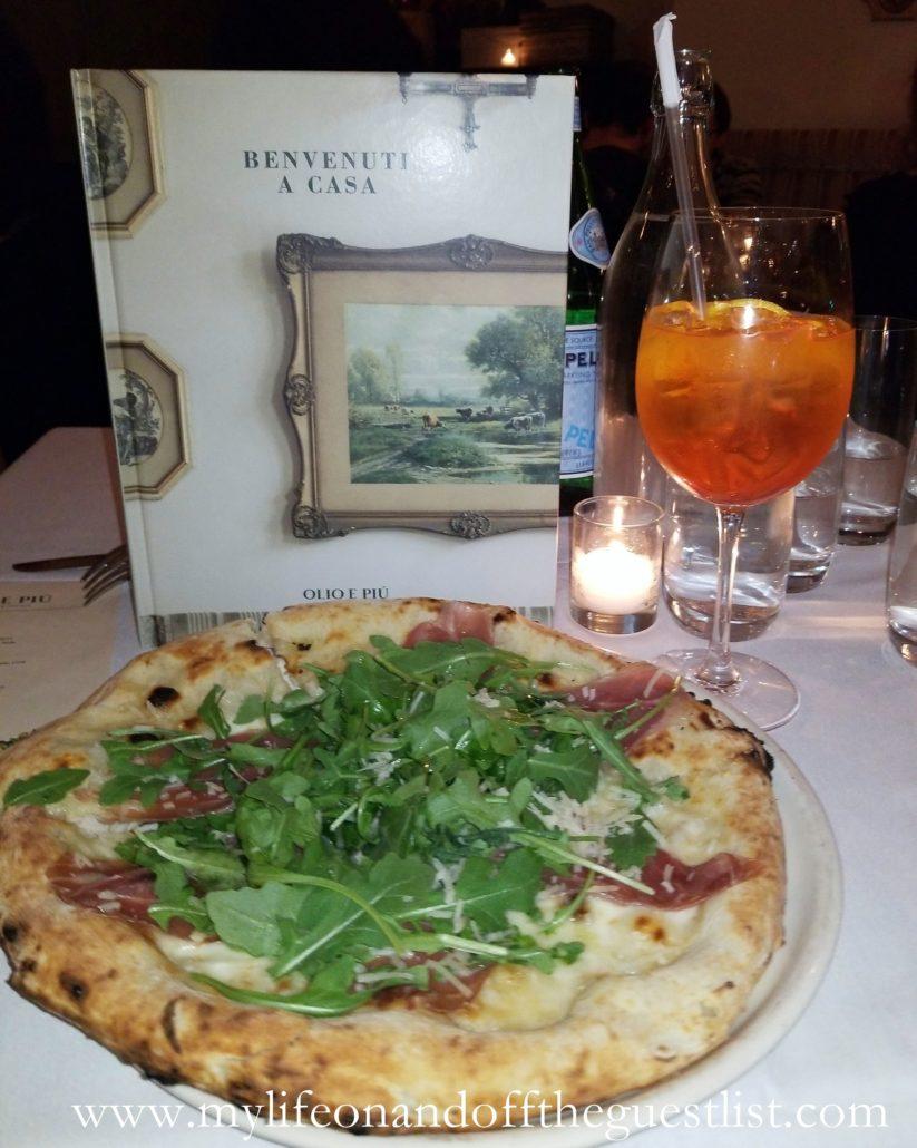 Italian Restaurant Olio e Piú Book Launch