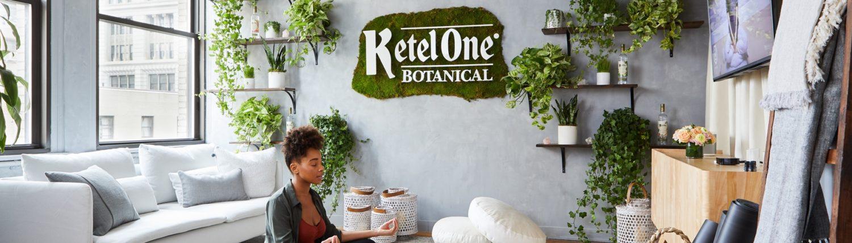 Ketel One Botanical Oasis at WeWork