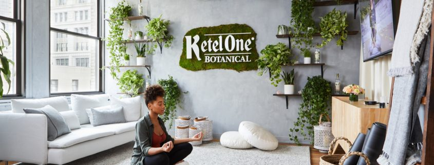 Ketel One Botanical Oasis at WeWork