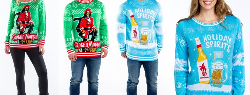 c389ae6bbd Captain Morgan and Tipsy Elves Launch Perfect Holiday Party Fashion