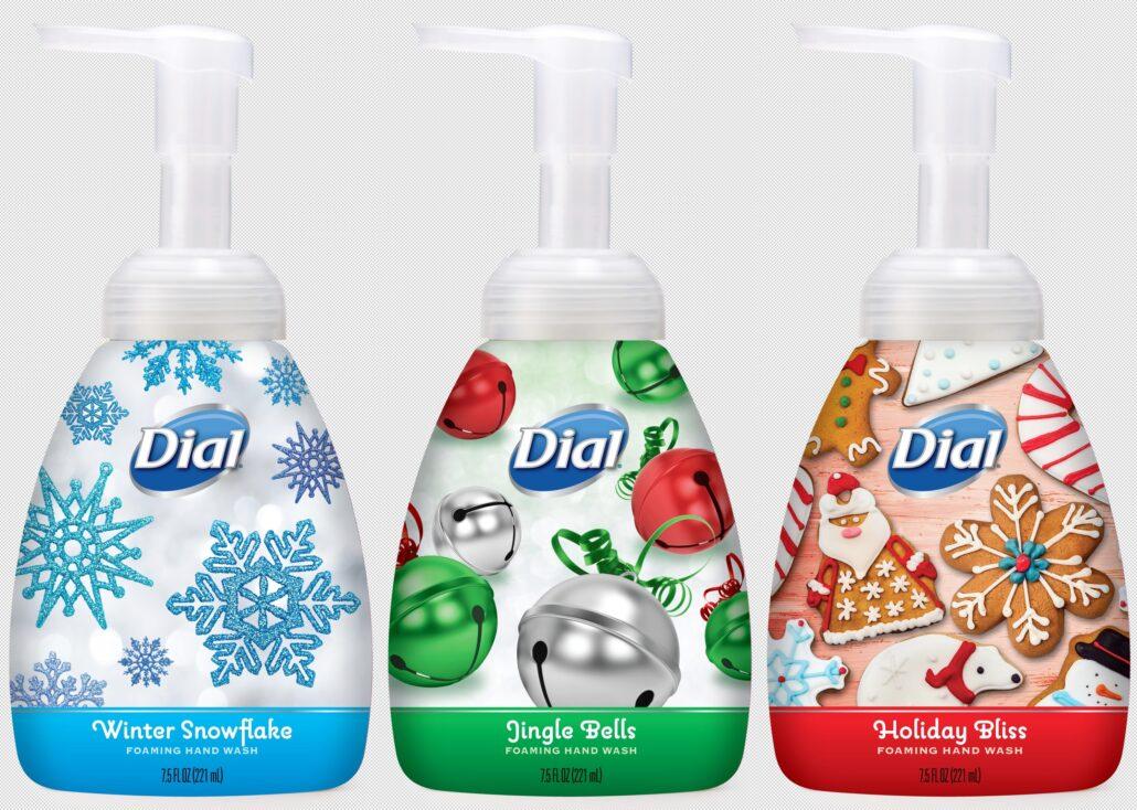 Seasonal Decor Dial Holiday Foaming Hand Washes