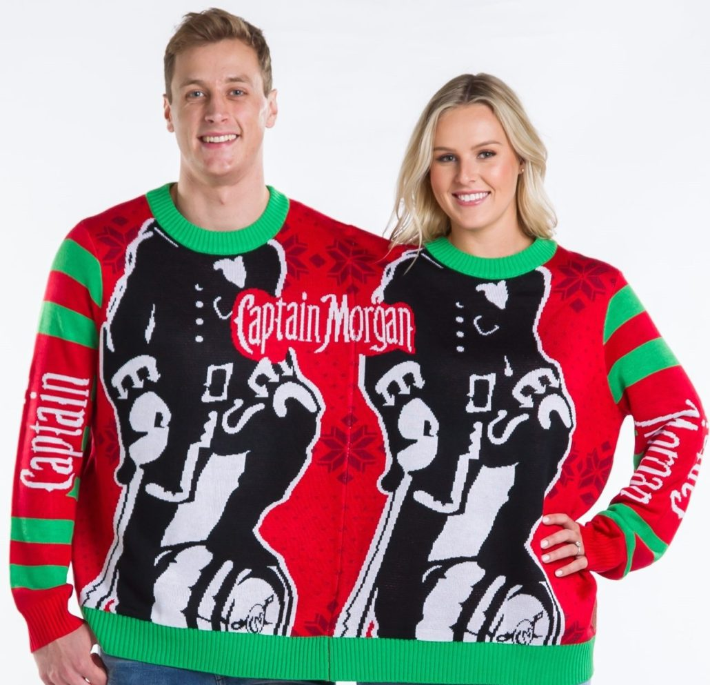 Captain Morgan Holiday Sweater