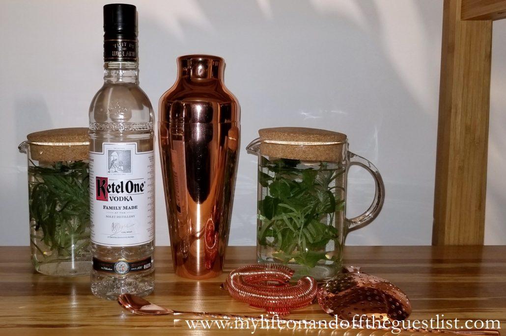 Ketel One Vodka #GrowyourOwnGarnish Event