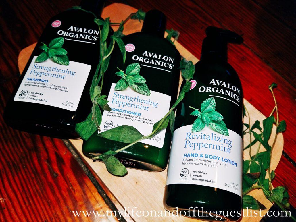 Avalon Organics Peppermint Products