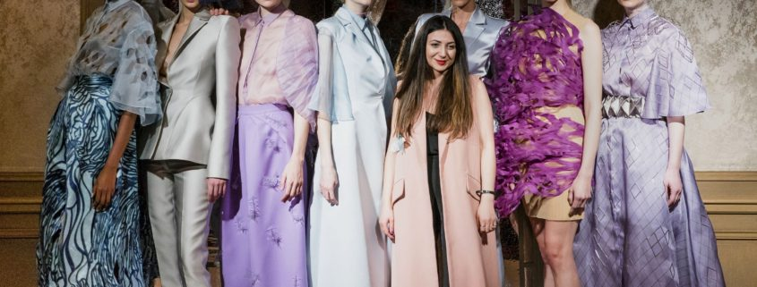 Armine Ohanyan SS2019 at Paris Haute Couture Fashion Week