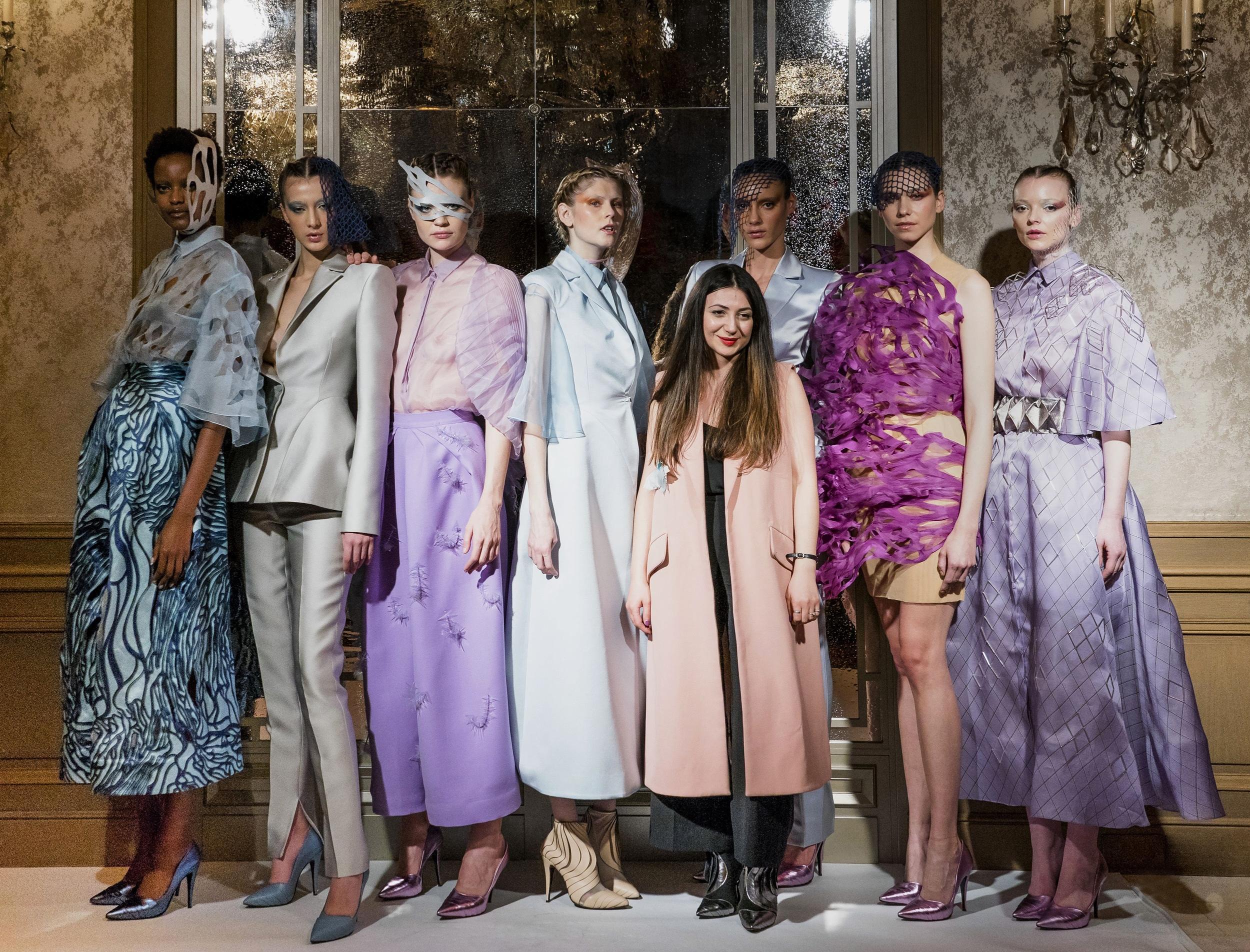 Armine Ohanyan SS2019 at Paris Haute Couture Fashion Week