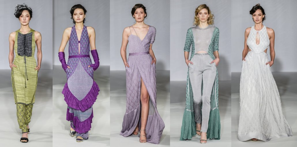 Maria Aristidou SS2019 at Paris Haute Couture Fashion Week