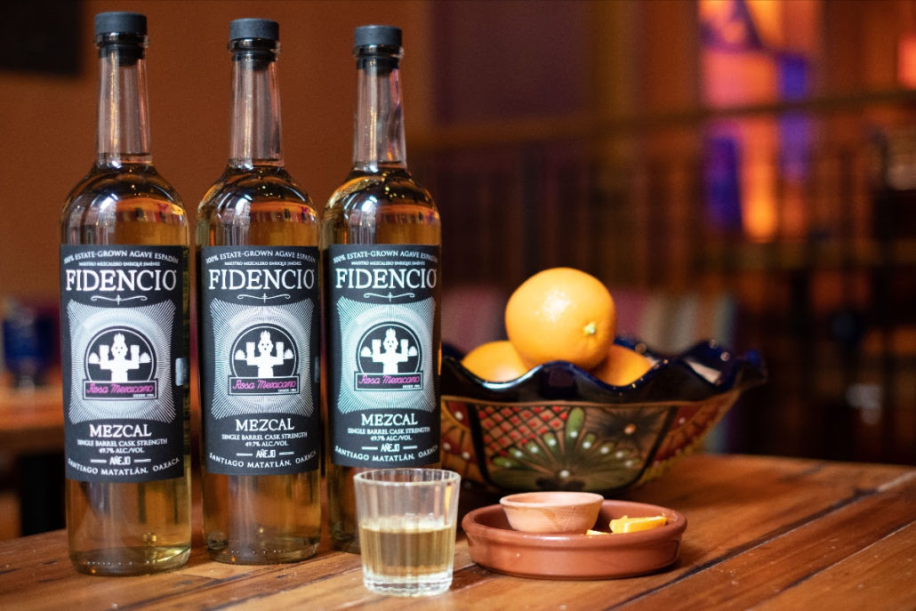 Rosa Mexicano's Private Label Mezcal from Fidencio Mezcal