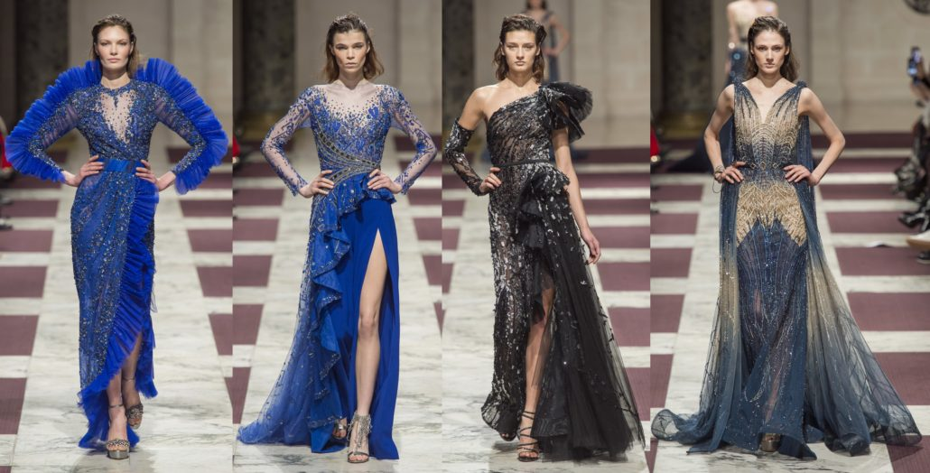 Ziad Nakad SS2019 at Paris Haute Couture Fashion Week