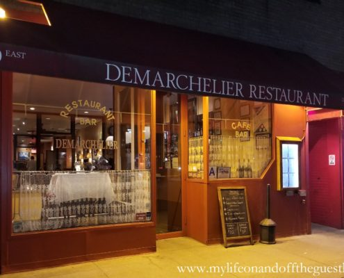 Authentic French Bistro Demarchelier, owned by artist Eric Demarchelier