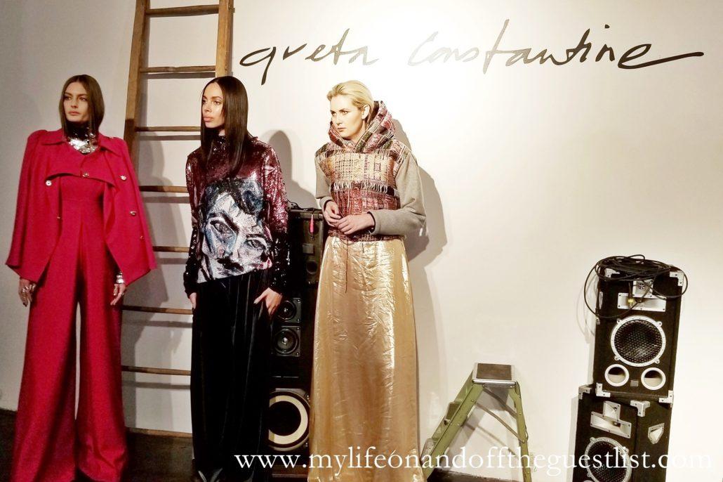 NYFW: Greta Constantine Fall/Wnter 2019 Presentation