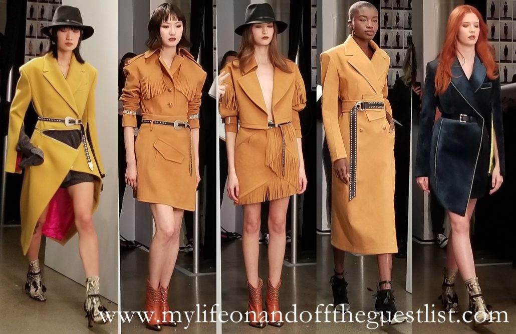 NYFW: Taoray Wang Fall/Winter 2019 Show