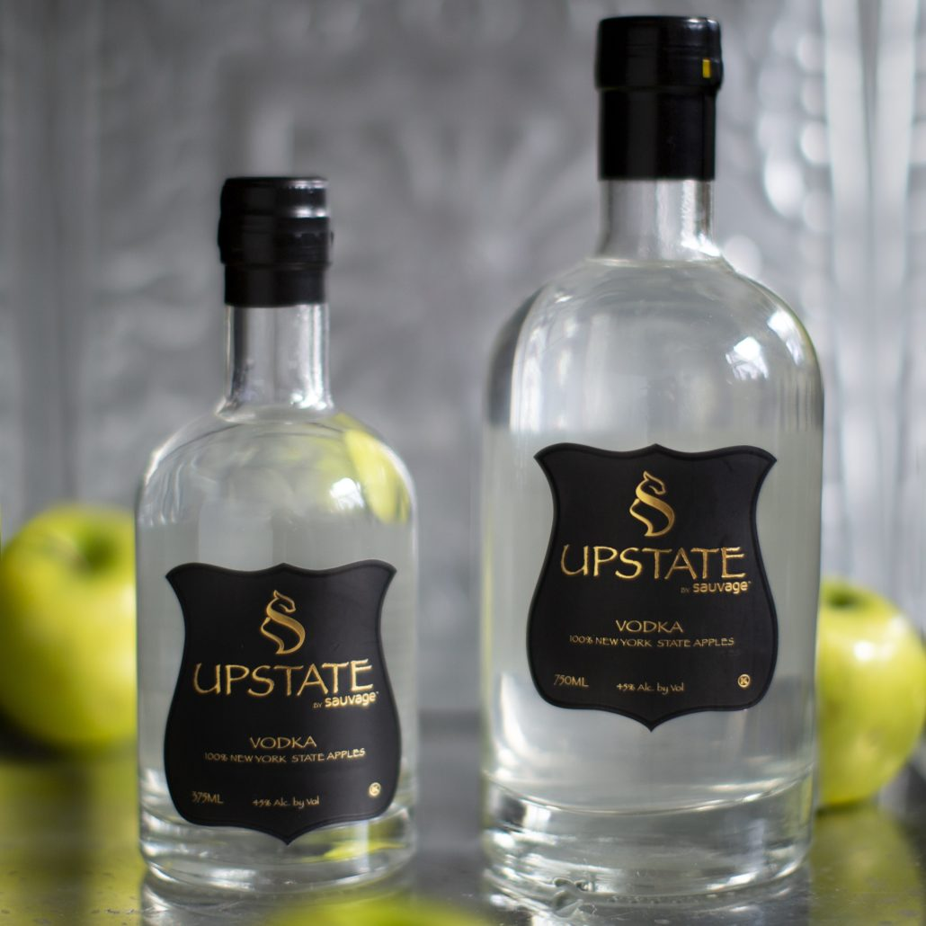 Upstate Vodka by Sauvage Distillery