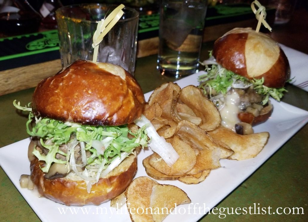 The Archer Bar Fare - Bison Sliders
