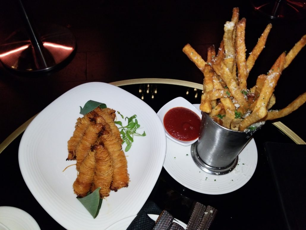 The Playboy Club NYC Appetizers