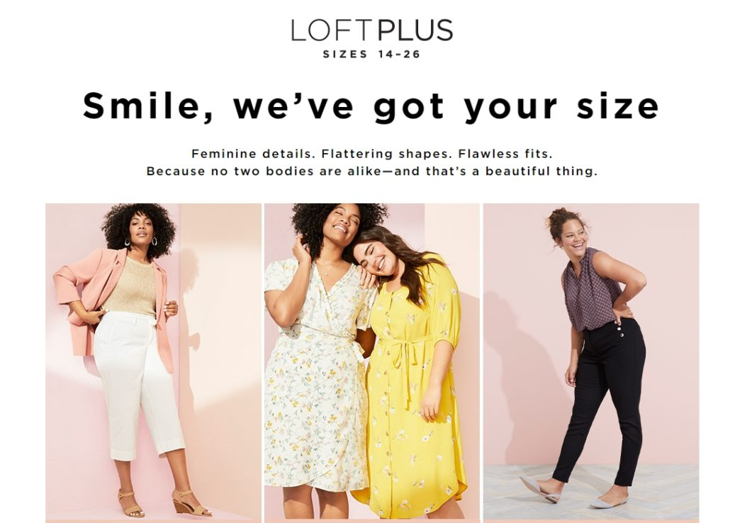 1894d3a26d0b But that doesn't mean that plus-sized women don't want to shop in stores.  When finding their size in person isn't an option, it makes sense that  they'll ...