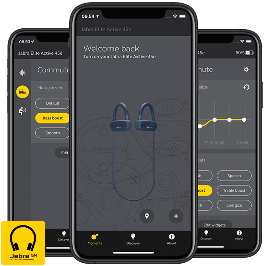 Jabra Elite Active 45e Wireless Headphones App