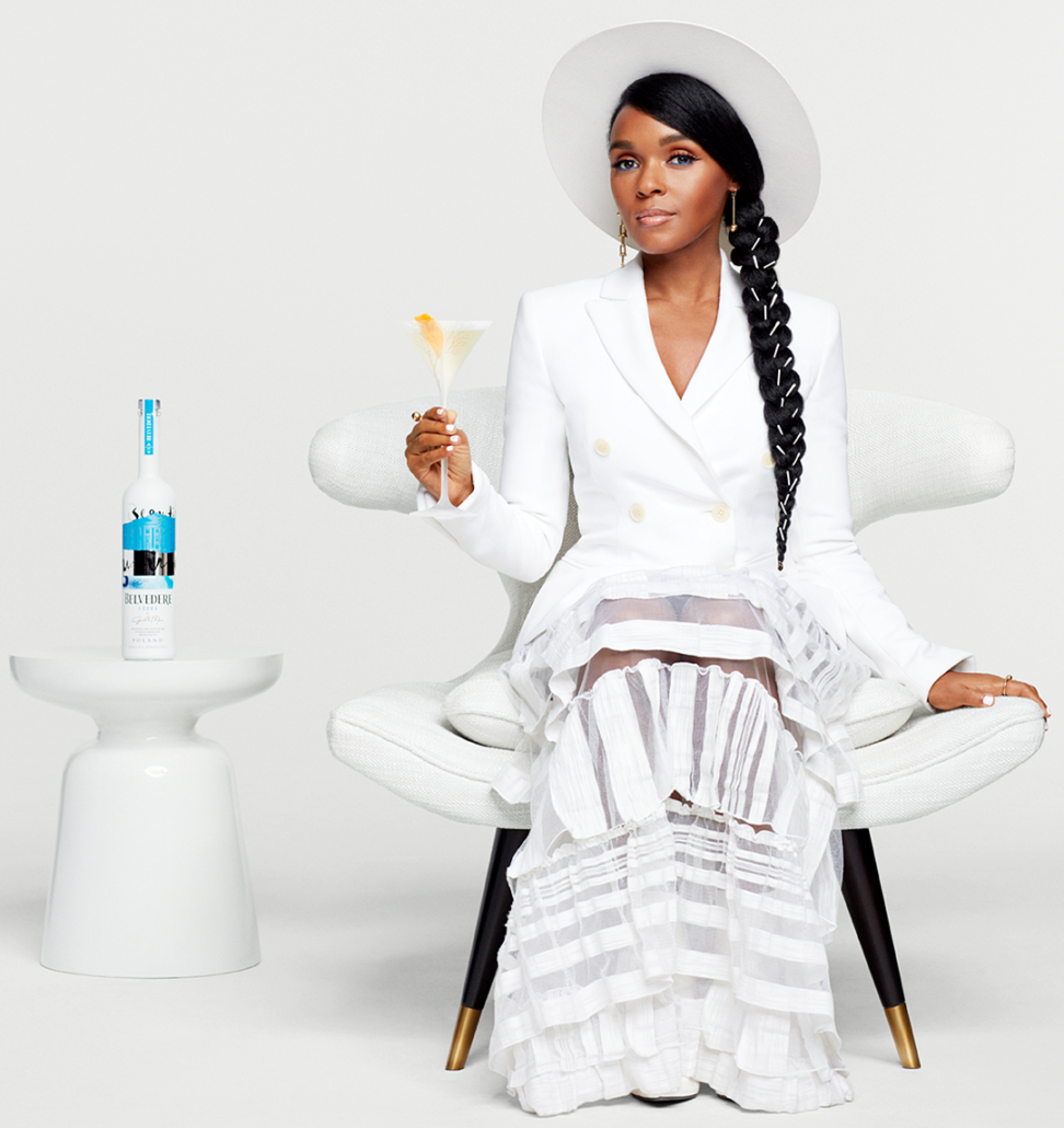"Belvedere Vodka X Janelle Monáe ""A Beautiful Future"" Limited-Edition Bottle"