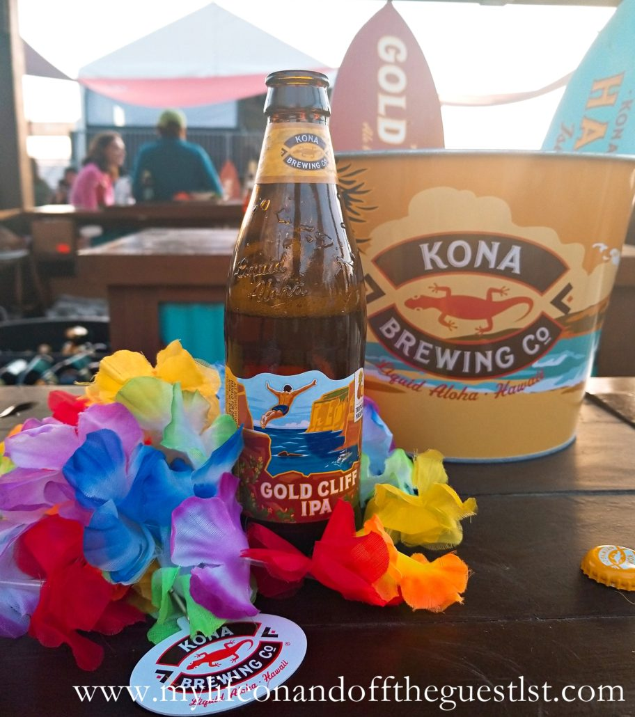 Kona Gold Cliff IPA Tropical Pineapple