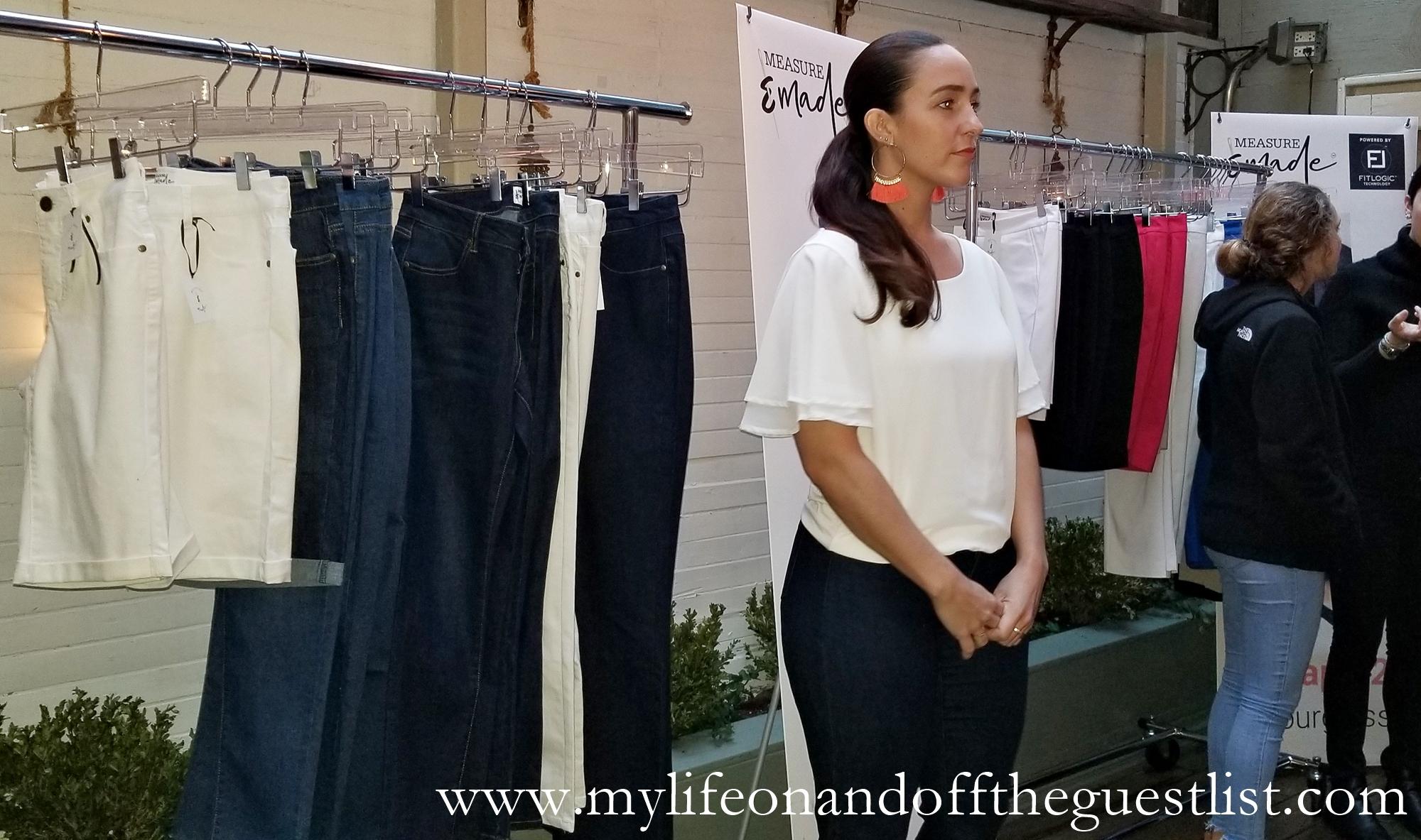 Measure & Made Custom Jeans