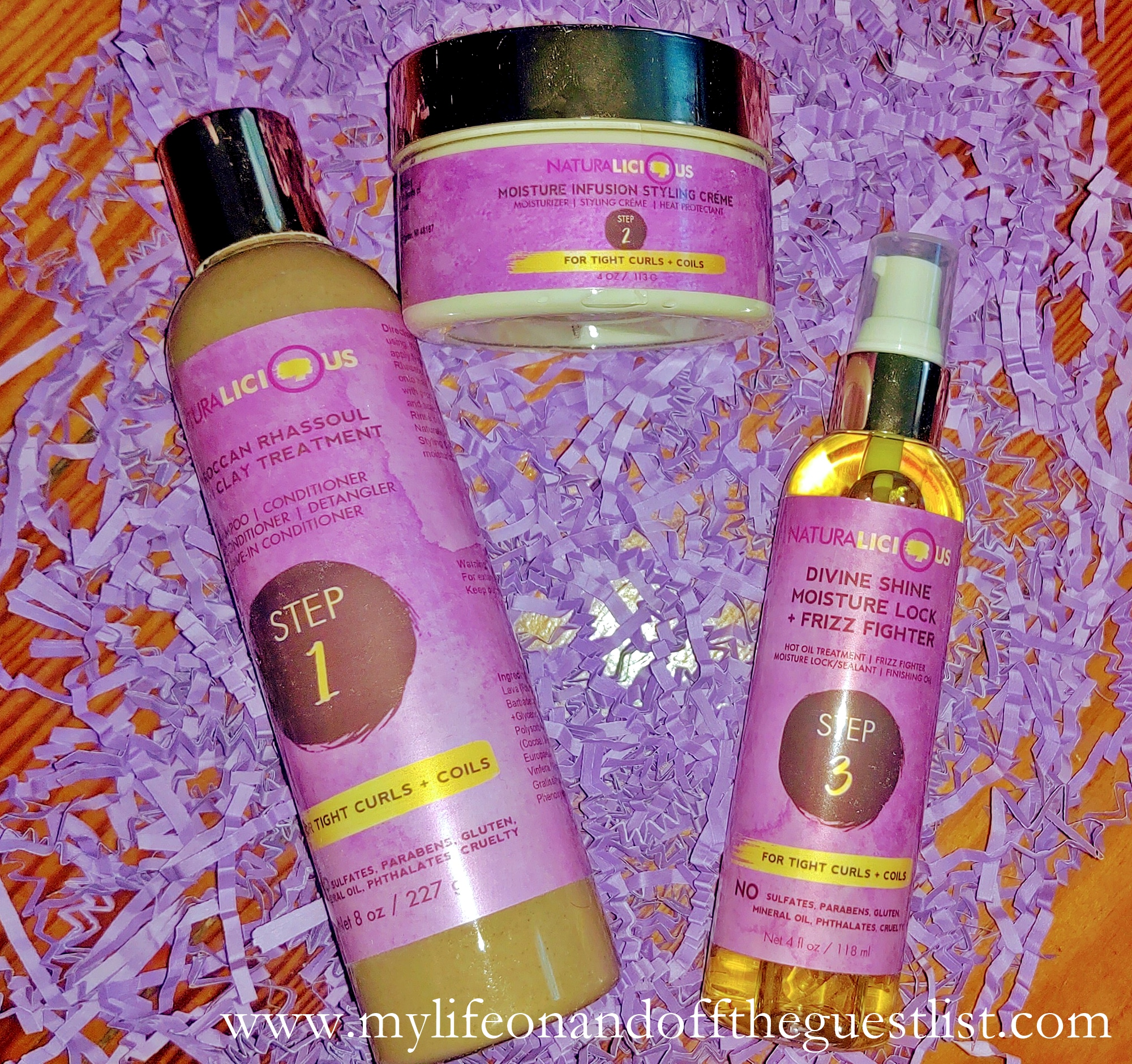 Naturalicious Hello Gorgeous 3-Step Hair Care System