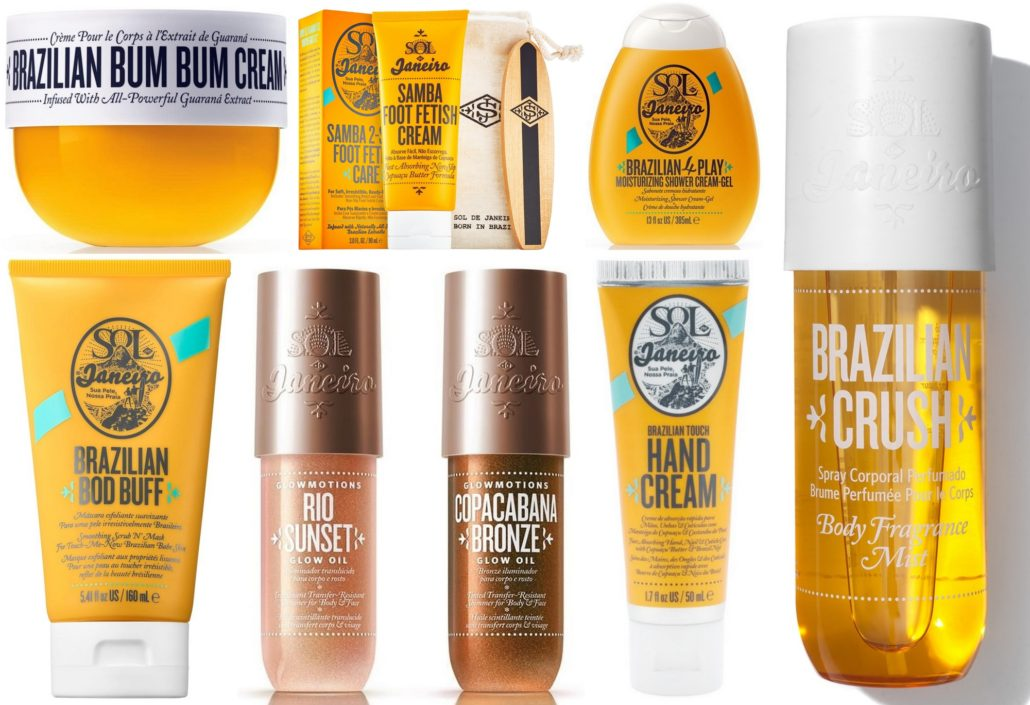 Sol de Janeiro's body-loving products