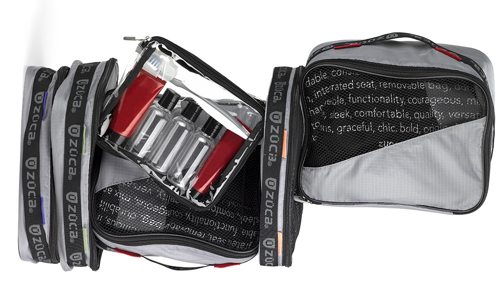 Zuca TSA-Approved Toiletry Bags
