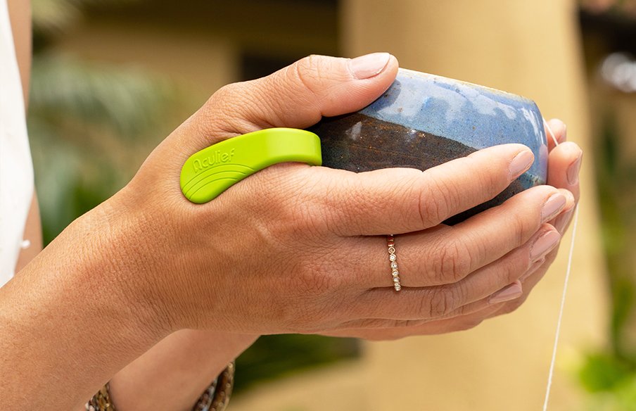Aculief Wearable Acupressure Device