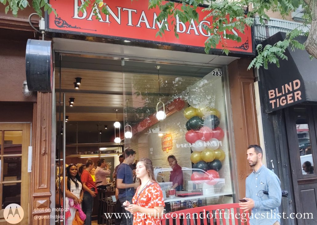 Bantam Bagels on Bleecker Street
