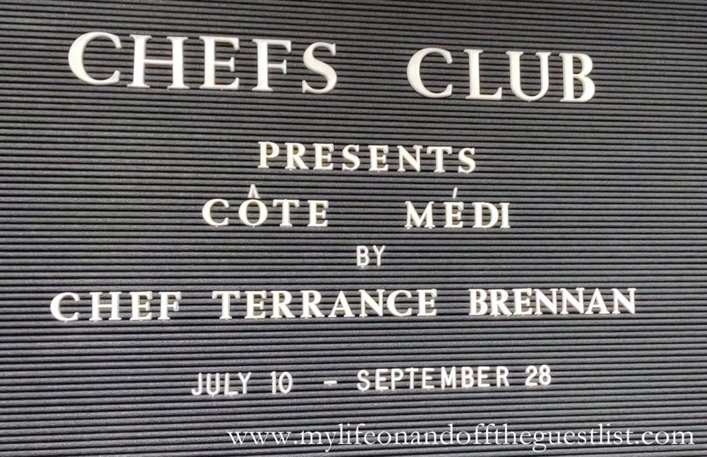 Chefs Club NY Côte Médi