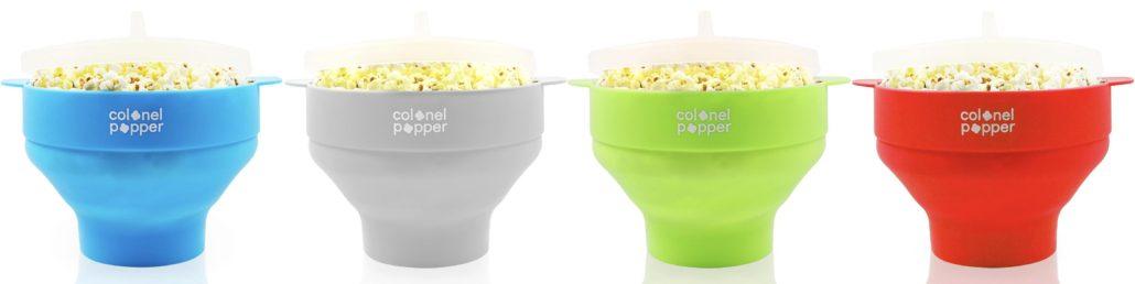 Colonel Popper's Classic Silicone Popcorn Popper