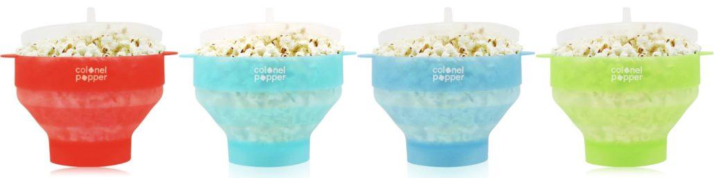 Colonel Popper's Transparent Silicone Popcorn