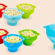 The Original Colonel Popper Silicone Microwave Popcorn Popper